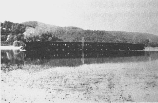 Hochwasser 1954 - Donauuferbahn