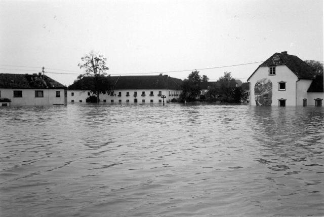 Hochwasser 1991 - Mettensdorf