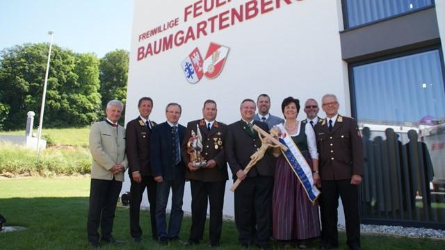 Eröffnung des neuen Feuerwehrhauses 2017
