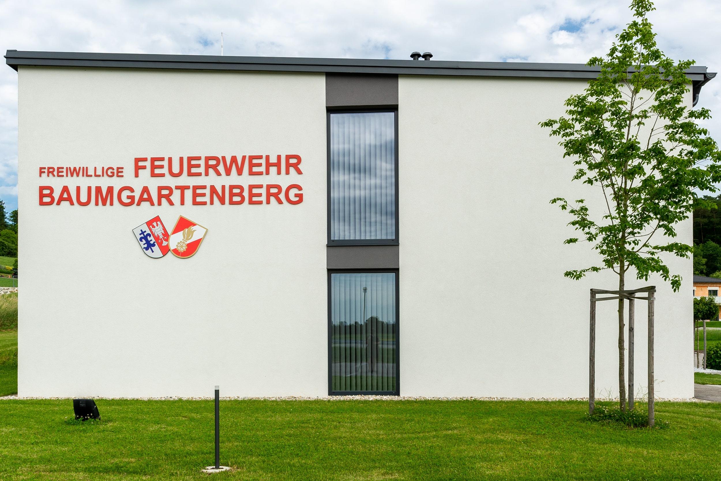 Feuerwehrhaus Baumgartenberg (Westen)